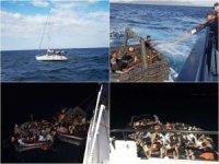 Sahil Güvenlik: 205 düzensiz göçmen kurtarıldı