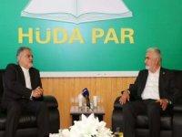İran Büyükelçisi Farazmand'dan HÜDA PAR Genel Başkanı Yapıcıoğlu'na ziyaret