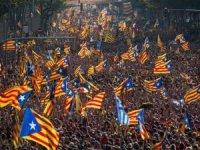 Katalonya'da bağımsızlık yürüyüşü