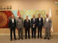 AK Parti Genel Merkez Yerel Yönetimler Başkanı Özhaseki'den Bağlar'ın projelerine destek