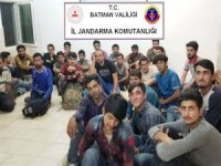 Batman'da 35 düzensiz göçmen yakalandı