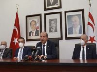 """KKTC Cumhurbaşkanı Tatar'dan müzakerelere """"uluslararası eşit statü"""" şartı"""