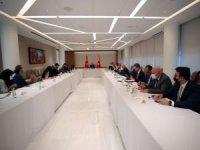 Cumhurbaşkanı Erdoğan New York Times heyetini kabul etti