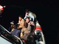 Van Gölü'nde 57 düzensiz göçmen yakalandı