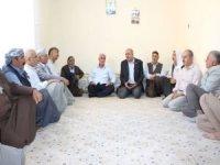 HÜDA PAR Mardin'de ölümle sonuçlanan elim kazanın taraflarını bir araya getirdi