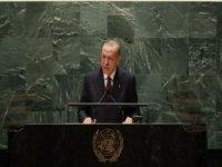 Cumhurbaşkanı Erdoğan BM 76. Genel Kuruluna hitap etti