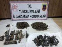 Tunceli'de PKK'ya ait 5 odalı sığınak imha edildi
