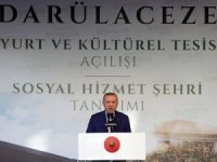 """Cumhurbaşkanı Erdoğan, """"Karnını doyurabileceği ekmeğe muhtaç olmak, fakirlik ölçüsü olmaktan çıktı"""
