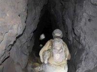 PKK'lıların Irak'ta kullandığı mağaralar tespit edildi