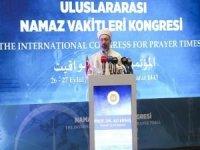 """Erbaş: """"Müslümanları yıpratmaya yönelik faaliyetler karşısında çözümler üretmeliyiz"""""""