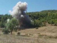 Bitlis kırsalında patlayıcı ve el bombaları ele geçirildi