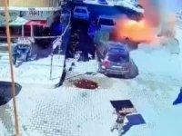 Cerablus'taki patlamada bir kişi öldü 15 kişi yaralandı: Saldırganlar kameraya yansıdı