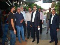 HÜDA PAR Genel Başkan Vekili Sağlam Mersin'de temaslarda bulundu