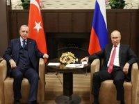 Cumhurbaşkanı Erdoğan: Suriye'nin barışı Türkiye-Rusya ilişkilerine bağlı