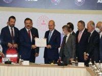 TOBB'dan AFAD'a doğal afetler için 50,5 milyon lira yardım