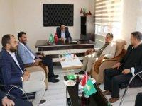 Yeniden Refah Partisi Malatya İl Başkanlığından HÜDA PAR İl Başkanlığına ziyaret