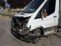 Van'da maddi hasarlı kaza