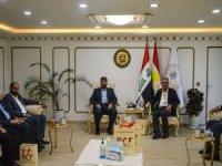 Umut Kervanı ve Avrupa Yetim Eli'nden Barzani Yardım Vakfı'na ziyaret