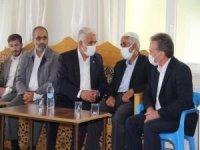 Yapıcıoğlu Elazığ'da Çeçen ailesinin taziyesine katıldı