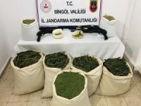 Bingöl'de 171 kilo uyuşturucu ve silah ele geçirildi