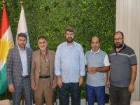 Umut Kervanı Vakfı ve Avrupa Yetim Eli Derneği yetkilileri Irak Kürdistanı'nda temaslarda bulundu
