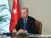 Cumhurbaşkanı Erdoğan: 2021'i yüzde 9'luk bir büyüme ile kapatmayı öngörüyoruz