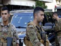 Beyrut'taki silahlı çatışmalara karışan 9 şüpheli yakalandı