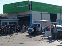 Adana'da meydana gelen trafik kazasında biri bebek 10 kişi yaralandı