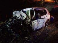 Gaziantep'te otomobil ile tanker çarpıştı: Bir ölü 2 yaralı
