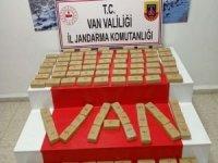 Van'da 61 kilogram eroin ele geçirildi