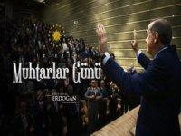 Cumhurbaşkanı Erdoğan Muhtarlar Günü programına video mesaj gönderdi