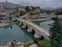 Tokat Tarihi Hıdırlık Köprüsü'nün restorasyonunun tamamlandı