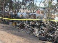 Kongo'da meydana gelen kamyon kazasında 50 kişi hayatını kaybetti