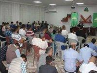 HÜDA PAR Genel Başkan Vekili Sağlam Mersin'de temaslarına devam ediyor
