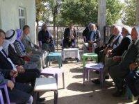 HÜDA PAR'dan Karacadağ köylerine ziyaret