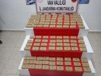 Van'da 124 kilogram uyuşturucu ele geçirildi