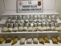Yüksekova'da 60 kilogram eroin ele geçirildi