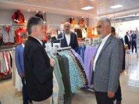 Yapıcıoğlu Mardin'de esnaf ve muhtarlarla bir araya geldi