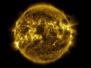 Güneş'in bir yılık değişimi kamerada