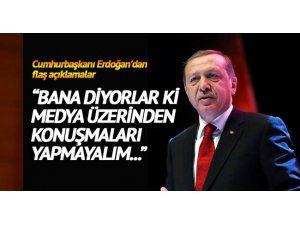 Erdoğan TCG Anadolu Gemisi'nin İnşa Başlangıç Töreni'ne katıldı