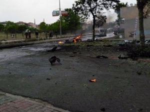 İstanbul Sancaktepe'de patlama anı