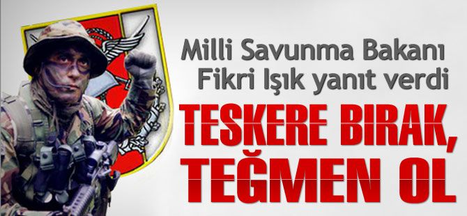 TSK: Teskere bırak, Teğmen ol